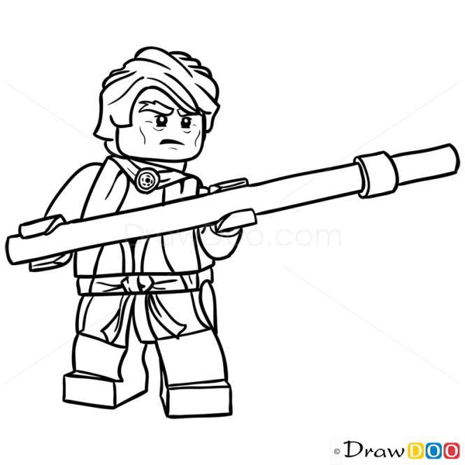 How To Draw Sensei Garmadon Lego Ninjago March 18