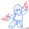 How to Draw Zabe, Lego Ninjago