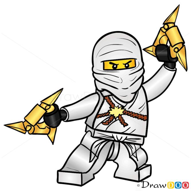 How to Draw Zabe, Lego Ninjago