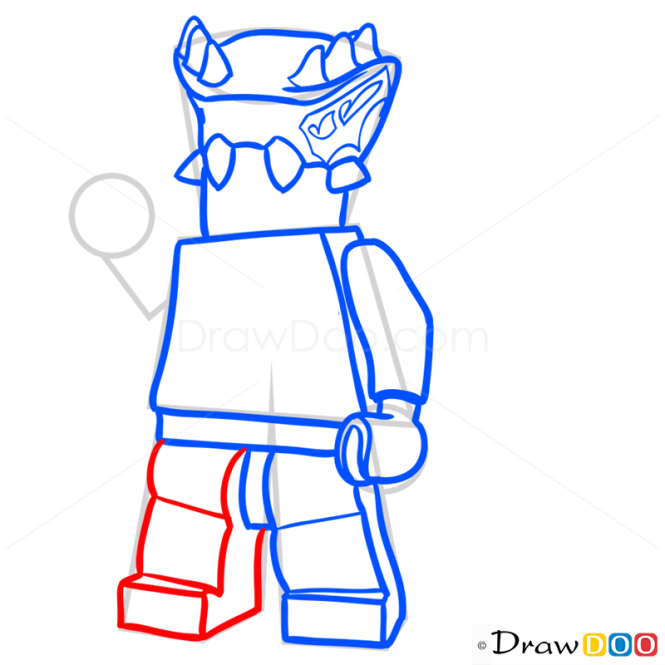 How to Draw Lizaru, Lego Ninjago