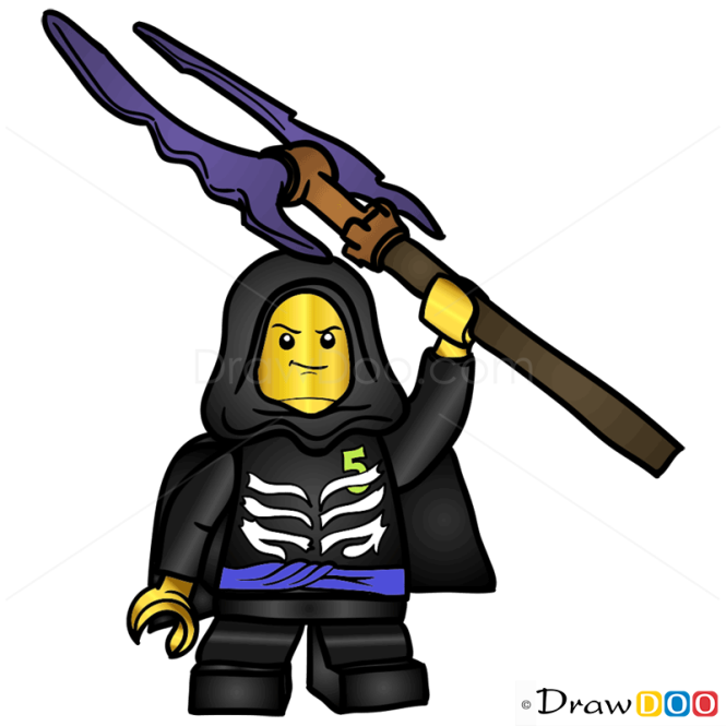 How To Draw Lloyd Garmadon Lego Ninjago