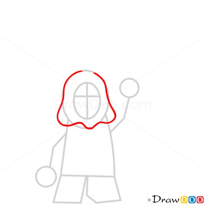 How to Draw Lloyd Garmadon, Lego Ninjago