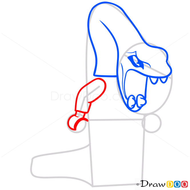 How to Draw Pythor P. Chumsworth, Lego Ninjago