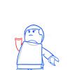 How to Draw Luke Skywalker, Lego Starwars