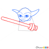 How to Draw Yoda, Lego Starwars
