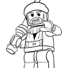How to Draw Obi-Wan Kenobi, Lego Starwars