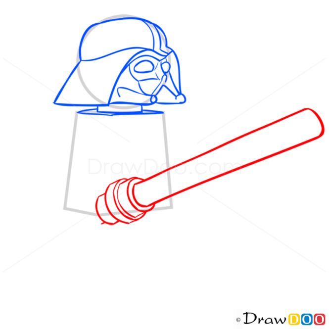 How to Draw Darth Wader, Lego Starwars