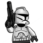 How to Draw Clone Trooper, Lego Starwars