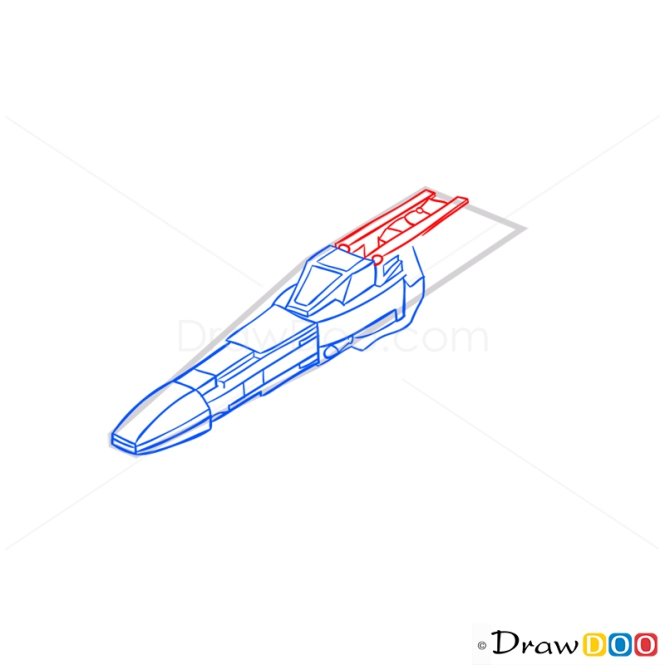 How to Draw X-Wing Starfighter, Lego Starwars