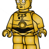 How to Draw C-3po, Lego Starwars