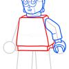 How to Draw C-3po, Lego Starwars