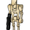 How to Draw Battle Droid, Lego Starwars