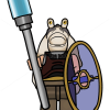 How to Draw Jar Jar Biwks, Lego Starwars