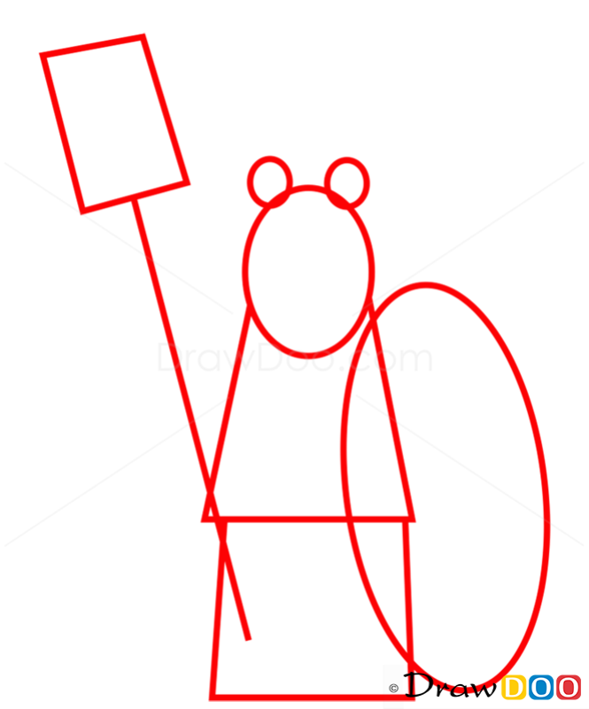 How to Draw Jar Jar Biwks, Lego Starwars