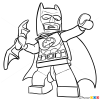 How To Draw Batman Lego Super Heroes
