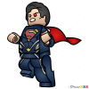 How to Draw Superman, Lego Super Heroes