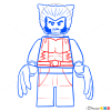 How to Draw Wolverine, Lego Super Heroes