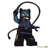 How to Draw Catwoman, Lego Super Heroes