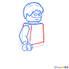 How to Draw Green Lantern, Lego Super Heroes