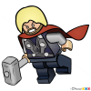 How to Draw Thor, Lego Super Heroes