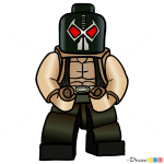 How to Draw Bane, Lego Super Heroes