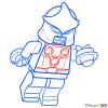How to Draw Nova, Lego Super Heroes