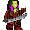 How to Draw Gamora, Lego Super Heroes