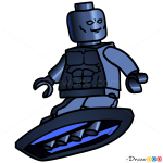 How to Draw Silver Surfer, Lego Super Heroes