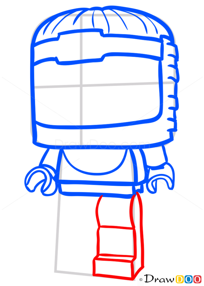 How to Draw Modok, Lego Super Heroes
