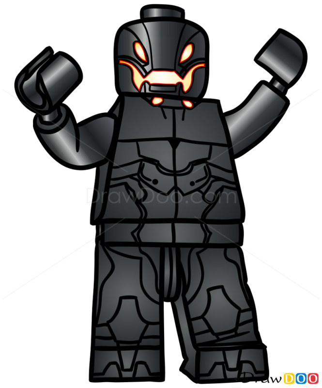 How to Draw Ultor, Lego Super Heroes
