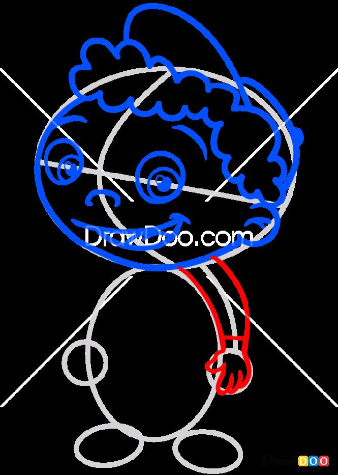 How to Draw Quincy, Little Einsteins