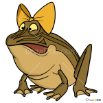 How to Draw Klava Toad, Luntik