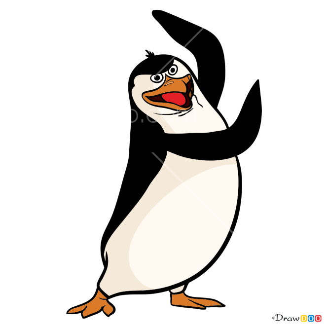 How to Draw Rico, Penguins