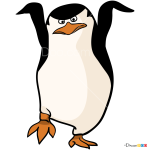 How to Draw Skipper Ninja, Penguins