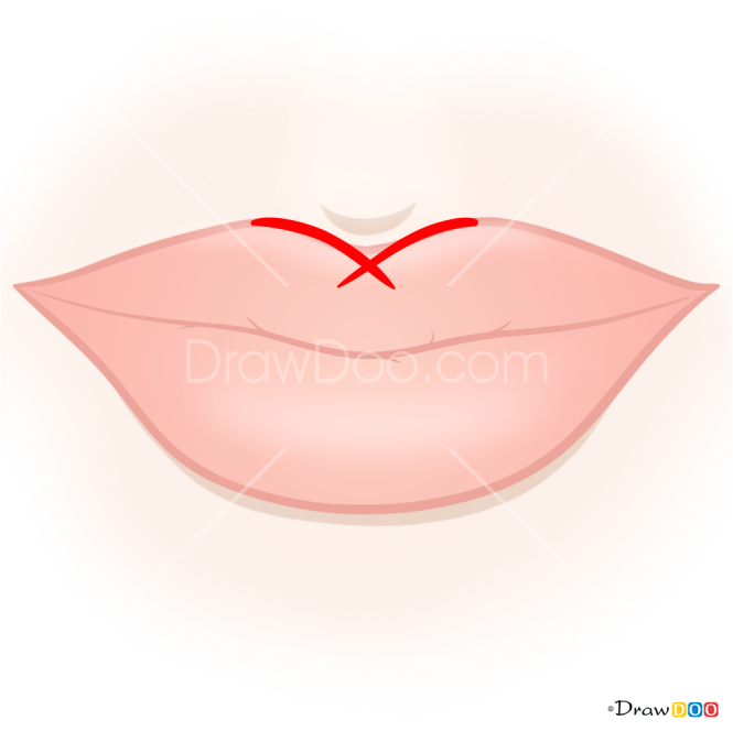 How to Draw Natural Lips, Makeup