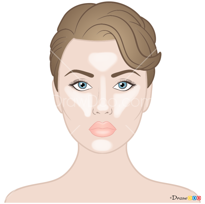 How to Draw Strobing, Makeup