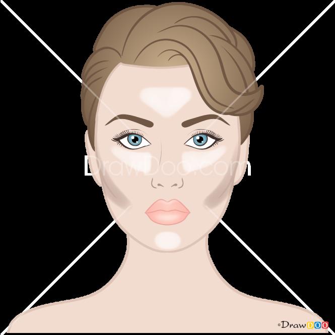 How to Draw Natural Makeup, Makeup