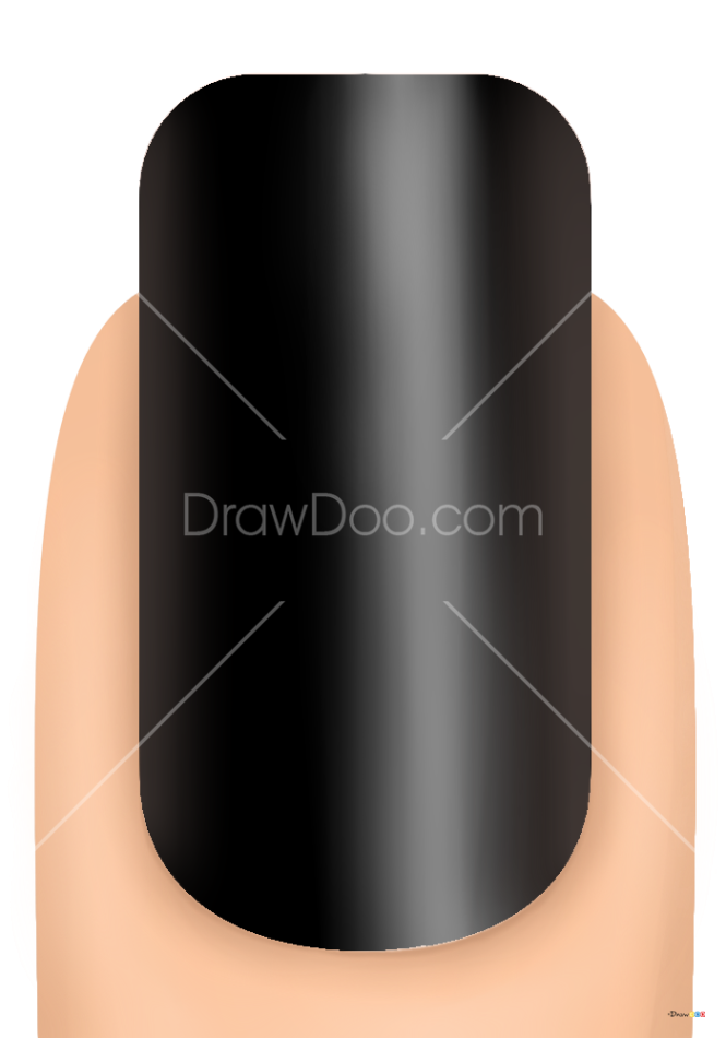 How to Draw Nautical Nails, Makeup