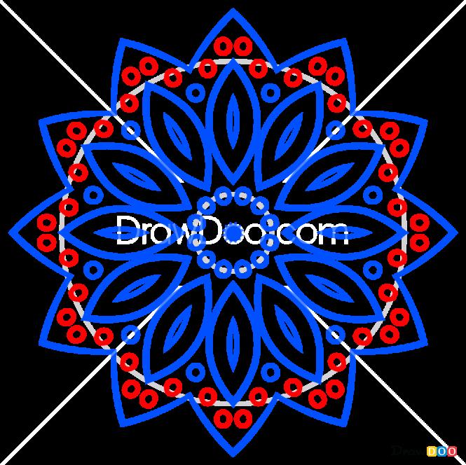 How to Draw Mandala 2, Mandala
