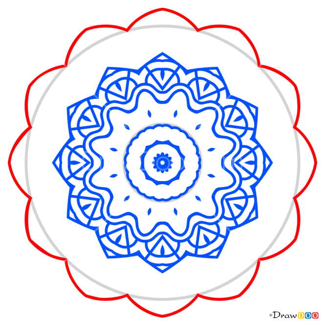 How to Draw Mandala 3, Mandala