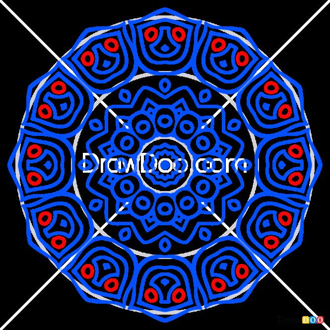 How to Draw Mandala 7, Mandala