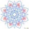 How to Draw Mandala 10, Mandala