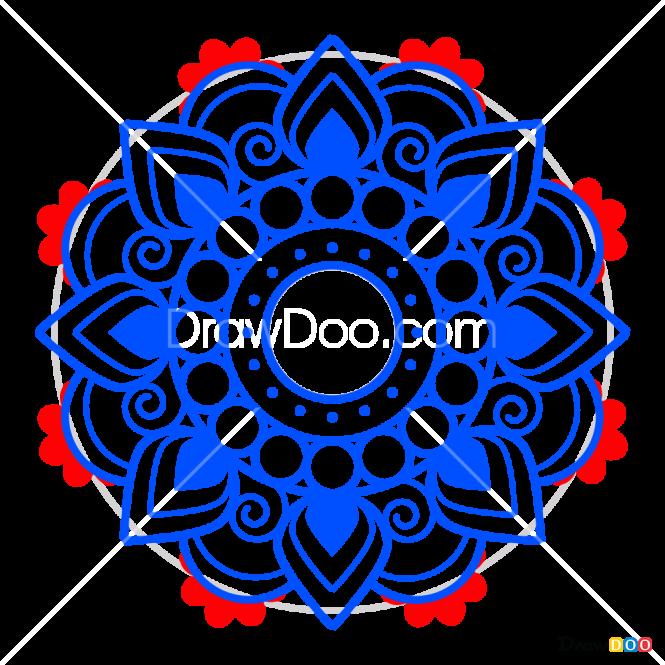 How to Draw Mandala 11, Mandala