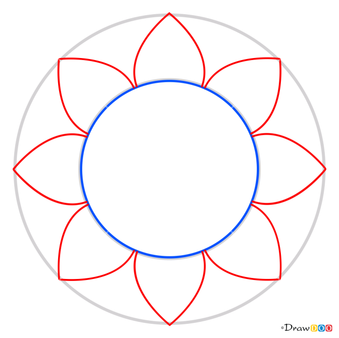 How to Draw Mandala 14, Mandala