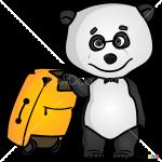 How to Draw Panda, Masha and The Bear