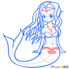 How to Draw Anime Mermaid, Mermaids