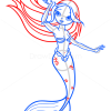 How to Draw Beautiful Mermaid, Mermaids