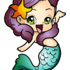 How to Draw Chibi Mermaid, Mermaids