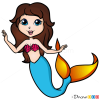 How to Draw Cute Mermaid, Mermaids