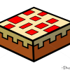 How to Draw Cake, Minecraft